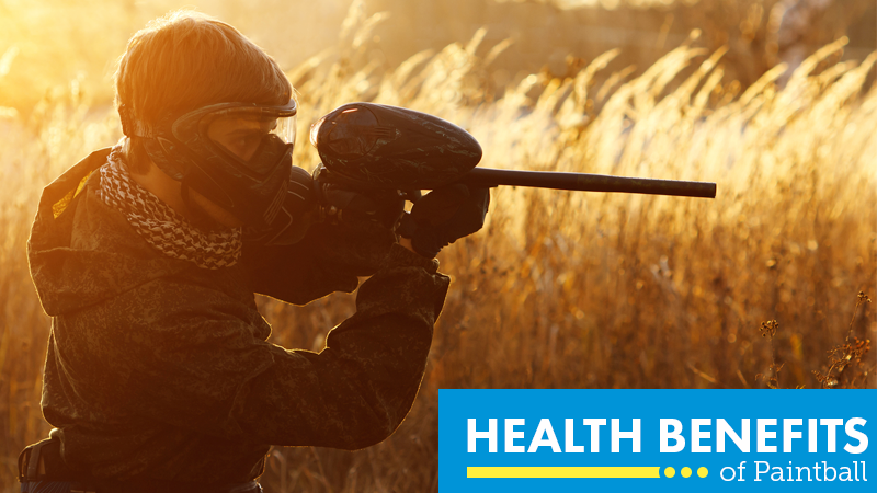 3 Suprising Health Benefits of Paintball